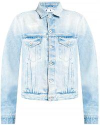 Off-White c/o Virgil Abloh Denim Jacket - Blauw