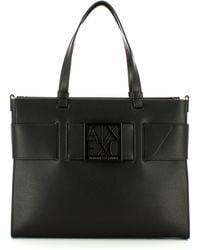 Karl Lagerfeld Borsa a spalla con fibbia - Noir