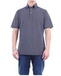 Zanone 811818zy345 Short Sleeves Men - Grijs