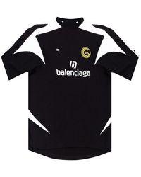 Balenciaga Logo T-shirt - Zwart