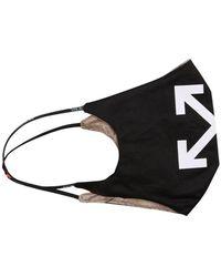 Off-White c/o Virgil Abloh Arrow mask - Noir