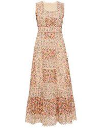 Etro Patterned dress - Neutro