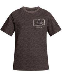 COACH T-shirt - Grijs