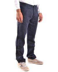 Stone Island - Trousers Azul - Lyst