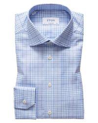 Eton Overhemd100000565 21 - Blau