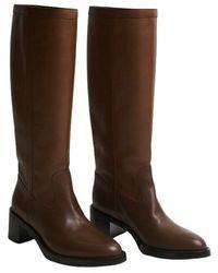 Celine Boots - Rojo