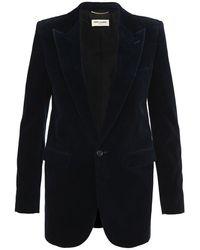 Saint Laurent Clothing Jacket - Blauw