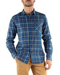 Replay Camicie Maniche Lunghe Shirt - Blauw