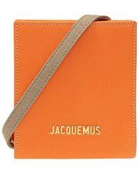 Jacquemus Le Gadjo Shoulder Bag - Oranje