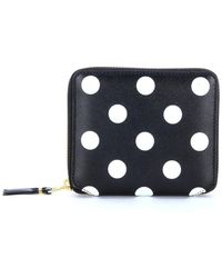 Louis Vuitton - Wallet In Black Leather And Polka Dots - Lyst