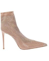 Le Silla - Gilda heeled ankle boots - Lyst