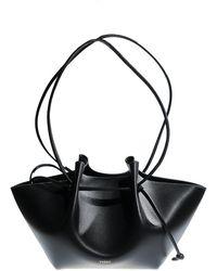 Yuzefi Monchi Nappa Bag - Zwart