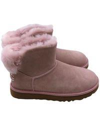 UGG Classic Bling Mini Boots - Roze