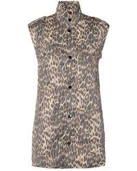 co'couture Felicia Animal Tech Veste 90159 Bone - Marrone