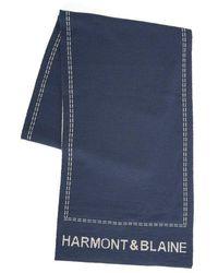 Harmont & Blaine Scarf - Blauw