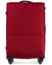 Conwood Soho 78 Cm Chili Pepper Suitcase - Rood