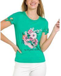 Naf Naf Camiseta - Groen