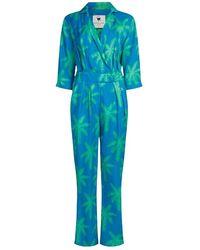 FABIENNE CHAPOT Jumpsuit - Bleu