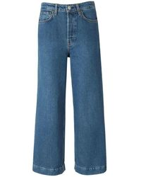 Rag & Bone Jeans Maya Cropped - Blauw