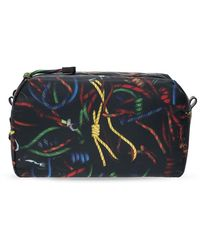 PS by Paul Smith Printed Wash Bag - Zwart