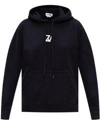 Zadig & Voltaire Logo hoodie - Nero