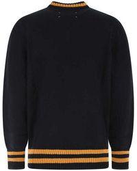 Maison Margiela Sweater Azul