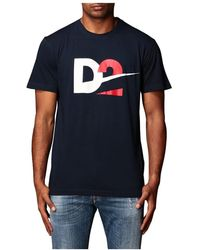 DSquared² - S74gd0728 S21600 478 T-shirt - Lyst