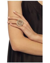 Midgard Paris Mayan Calendar brass ring Marrón