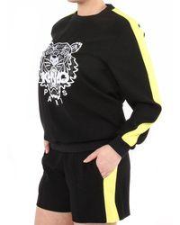 KENZO Soft Sweater Tiger - Zwart