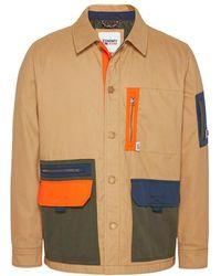 Tommy Hilfiger Jacket Dm0dm11205rbl - Naturel