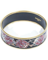 Hermès Tweedehands Emaille Armband - Roze