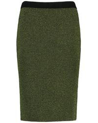 CKS Rok Aroline Juniper Green Met Glitter - Size 36 / S - Groen