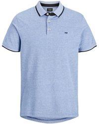 Jack & Jones Poloshirt Klassiek - Blauw