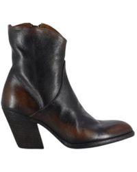 Officine Creative Derniere 001 heeled ankle boots - Schwarz