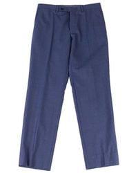 Ted Baker Jefferson Wool Stretch - Blauw
