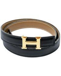 Hermès Cintura Costanza H H - Nero