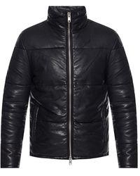 AllSaints 'Coronet' leather jacket - Noir
