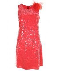 GAUDI Dress 911fd15016 - Rood