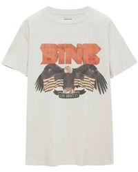 Anine Bing T-shirt - Bianco