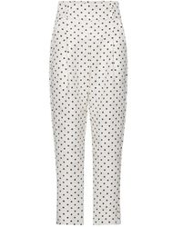 Custommade• Pantalone pois - Blanc