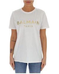 Balmain - T-shirt - Lyst