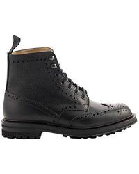 Church's Mac Farlane 2 Highland Grain Lace-Up Boots Brogue - Nero