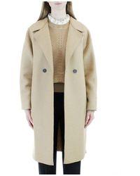 Harris Wharf London Over coat - Blanc