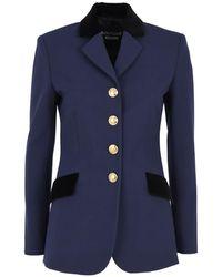 Boutique Moschino Jacket - Bleu