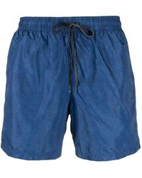 Drumohr Swim Shorts - Blauw