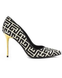 Balmain Shoes with heel - Negro
