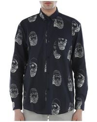 Paura Shirt - Blu