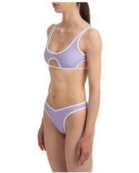 Gcds Bikini Morado - Azul