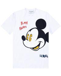 Iceberg - Printed T-shirt - Lyst