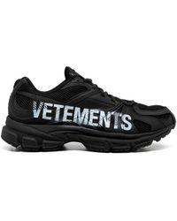 Vetements Sneakers - Zwart